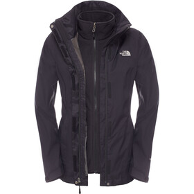 The North Face Evolve II Chaqueta Triclimate Mujer, tnf black